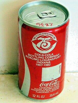 Coca-Cola; North Central Canning, Inc.; Plymouth, IN; Soda Pop Can