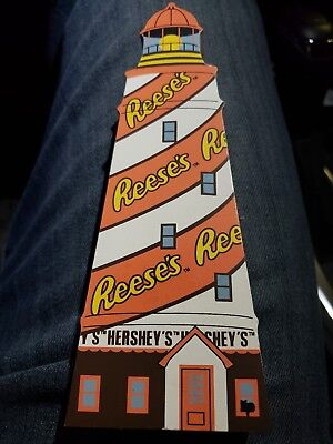 Reese's Hershey's Lighthouse The Cats Meow Faline 1999 Black Cat #10002