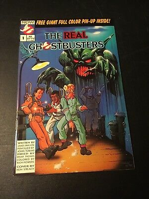 The Real Ghostbusters #1 (Aug 1988 Now/marvel) Marvelous Classic Vf!!!