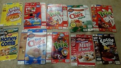 Lot 30 CEREAL box 2002 2003 2004
