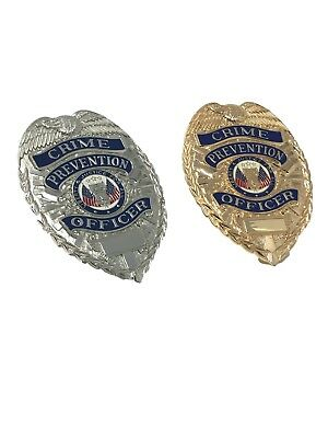 Crime Prevention Officer Badge Set