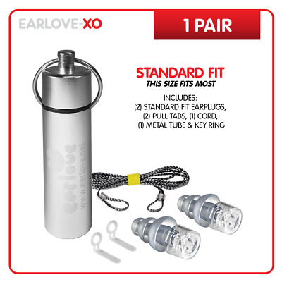 Earlove-XO Discreet Profile High Fidelity Earplugs