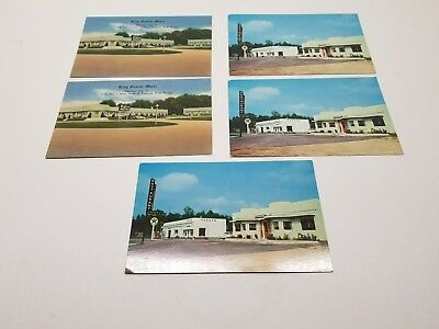 Lot of 5 vintage postcards from Virginia.