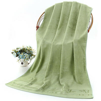 """Upscale bath towel 55""""X28"""" One Thick bamboo fiber Water absorption Antibacterial"""