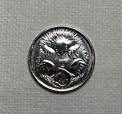 Australian 2016 Five 5 Cent Coin UNC Hard To Find Queens Head Very Scarce