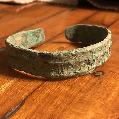 RARE Ancient Viking Bracelet Jewelry Artifact Norse 950-1075 AD Authentic Old