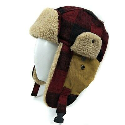 Outdoor earflap bomber hats for men women thick Russian Ushanka