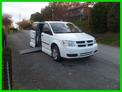 2008 Dodge Grand Caravan SE VAN WHEELCHAIR HANDICAP POWER SIDE ENTRY HAND CONTROL EZY L2008 SE Used 3.3L V6