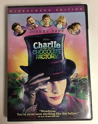 Charlie And The Chocolate Factory DVD New Widescreen