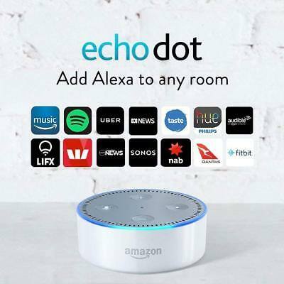 Amazon Echo Dot (2nd Generation) Smart Assistant White
