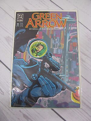 Green Arrow #13 (1988, DC Comics) Bagged and Boarded - C485
