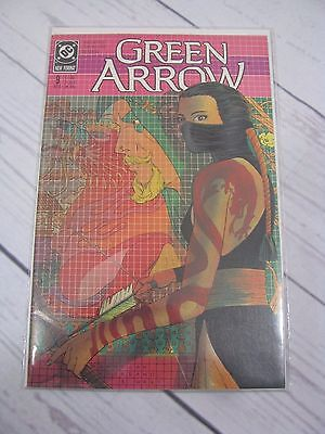 Green Arrow Issue 9 Oct 1988 (DC Comics - Copper Age) Bagged and Boarded - C481