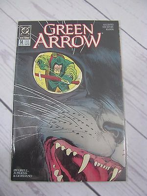 DC GREEN ARROW (1988) 14 Bagged and Boarded - C486