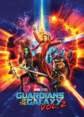 GUARDIANS OF THE GALAXY Vol. 2 - Promo Card 1 - Star-Lord Groot Gamora