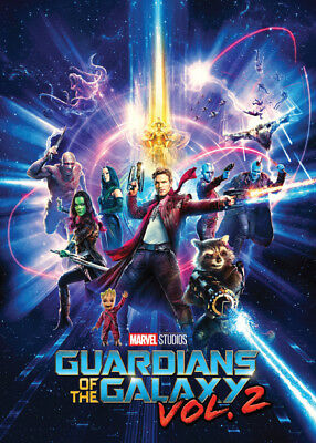 GUARDIANS OF THE GALAXY Vol. 2 - Promo Card 6 - Baby Groot Drax Star-Lord Gamora