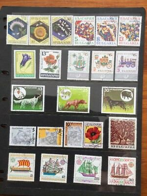 23 Used Stamps From Bulgaria