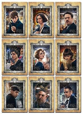 Harry Potter FANTASTIC BEASTS AND WHERE TO FIND THEM - 10 Card Promo Set - Newt