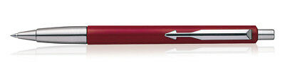 Parker Vector Standard CT Ballpoint Pen Red Stainless Steel, Mothers Day Gift