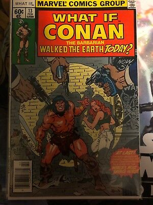 WHAT IF #13 CONAN LIVED TODAY? *Hot Book* Great Condition!