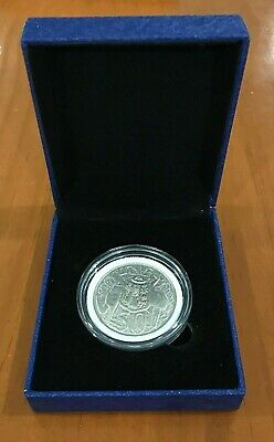 1966 (80% Silver) Australia Round Fifty 50 Cent Coin - Great Coin In Gift Box