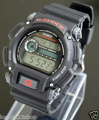 Dw-9052-1V Black Casio Men's Digital G-Shock Dw9052 200M Wr Free Shipping Box