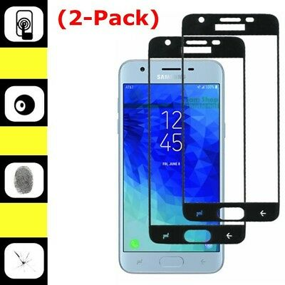 2X Full Tempered Glass Screen Protector For Samsung Galaxy J3 Achieve/Star 2018
