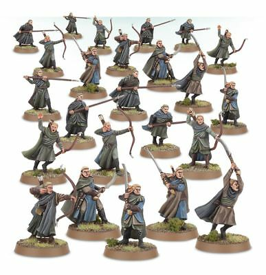 Warhammer Wood Elf Warriors The Lord of the Rings new