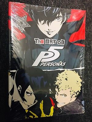 The Art Of Persona 5   Rare Artbook In English   Brand New & Sealed