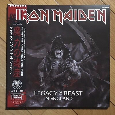 IRON MAIDEN Legacy Of The Beast In England metallica ghost judas priest