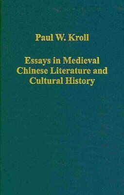 Essays in Medieval Chinese Literature and Cultural History, Hardcover by Krol...