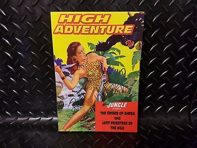 High Adventure #76 Jungle Stories Sword of Sheba Lost Priestess of the Nile etc