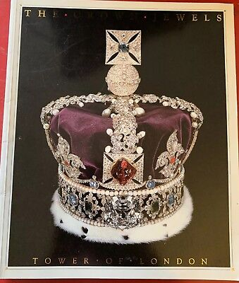 'The Crown Jewels Tower Of London'1987 Reprint Guide Booklet