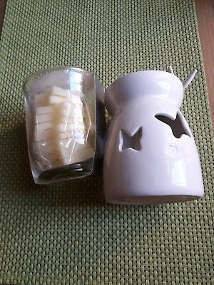 Butterfly Burner Plus Wish upon a Star Divine Amber Wax Melts