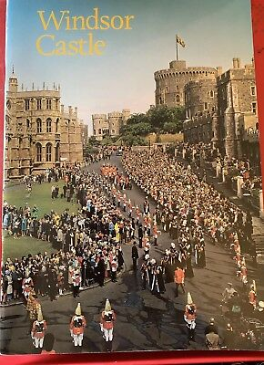'Windsor Castle' 1988 Reprint Guide Booklet By Robin Mackworth-Young