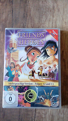 Friends and Heroes Folgen 12 und 13 DVD German/English/France