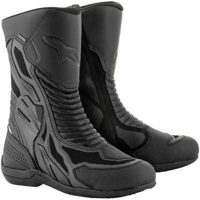 Alpinestars Air Plus V2 Gore-Tex XCR Motorcycle Boots Black