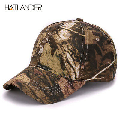 Plain dyed camo 100% cotton cap blank baseball hat with no embroidery sport mens