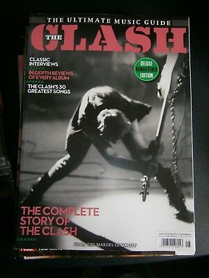 Ultimate Music guide The Clash From The Makes Of Uncut Bookazine 2017 (new)