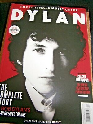 Ultimate Music guide Dylan From The Makes Of Uncut Bookazine 2016 (new)