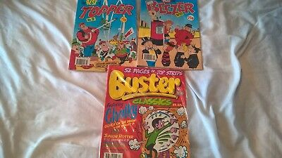 the best of the topper no. number 9 & beezer 8 1990 and buster classics 4 1996