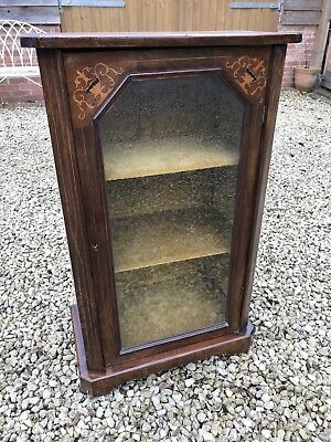 Victorian Inlaid Display Cabinet