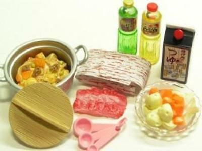 R045 Supermarket Series Egg Beef Soy Sauce Vegetable Miniature Rement #6 2018