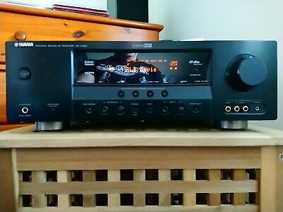 Yamaha RX-V363 5.1 AV Hi-Fi Receiver. Remote, mic and manual. Perfect working.