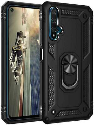 Case for Samsung  Galaxy S9 S8 S9 + Magnetic Shockproof Ring Holder Clear Cover
