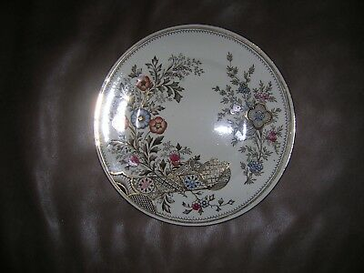 "Christopher Dresser Old Hall 9 1/4"" polychrome plate"