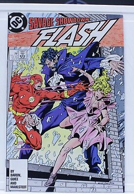 DC comic The flash savage showdown #2 1987