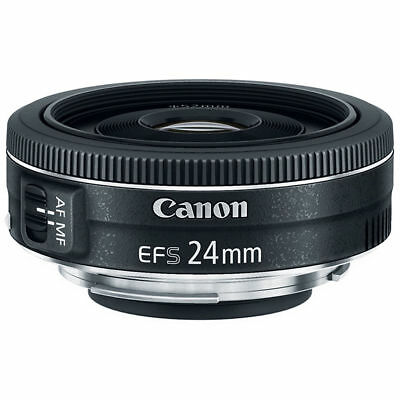 Canon EF-S 24mm f/2.8 STM Wide Angle Prime Lens - Boxed - EXCELLENT CONDITION