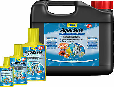 Tetra AquaSafe , Water Conditioner, 50ml,100ml,250ml,500ml