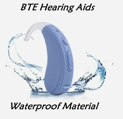 USB Rechargeable Digital Hearing Aid Severe Loss Invisible BTE Hearing Amplifier