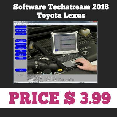 Techstream 02/2018 OBD2 Toyota Lexus TIS Software V13.30.018 for Mini VCI
